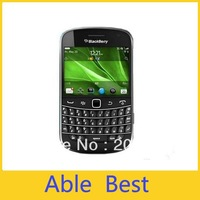 Free DHL shipping 100%  Original   blackberry 9900 5 unlocked 3G phone,QWERTY+touch 2.8inch,WiFi,GPS,5.0MP camera