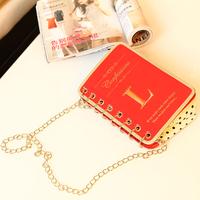 Personalized books bag calendar bag women's handbag chain small bags shoulder bag clutch