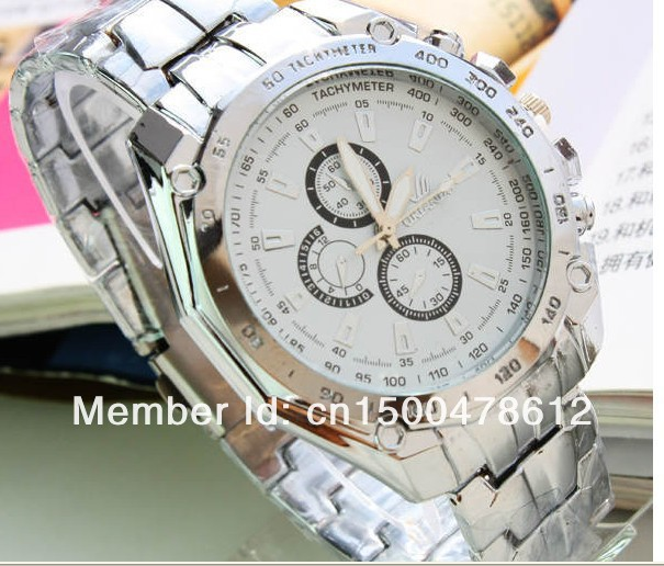 Wholesale New Fashion Sport Luxury Men' Wrist Wacth High Quality(China (Mainland))
