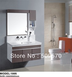 Excellently and modern PVC bathroom vanities wall mounted(China (Mainland))