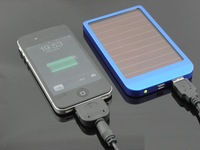 2600MAh solar charger External Battery for ipad, iphone, smart phone