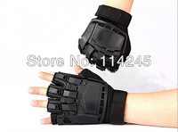 HOT Transformers Tactical Half Finger Airsoft Paintball Gear Gloves Cycling gloves Free shipping OS139