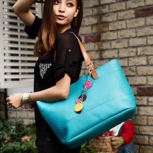 Free shipping 2013 gentlewomen candy bag elegant all-match women's handbag shoulder bag pendant color block bag