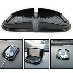 Multi-functional car Anti Slip pad Rubber Mobile Phone Shelf Antislip Mat For GPS MP3 Cell Holder(China (Mainland))