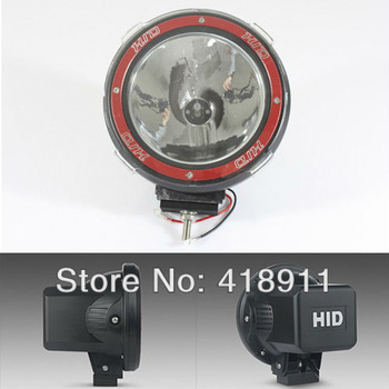 Free shipping 2PCS Aluminum 35w HID work light off-road /tractor lamp 4 inches