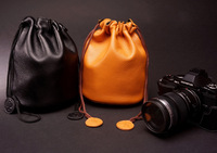 Camera leather bag leather bag leather cover NEX7/OMD E-M5/X-E1/NEX-5N tank bag Universal