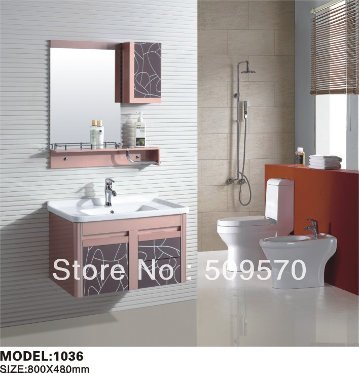 Economical PVC bathroom cabinet(China (Mainland))