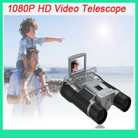 "NEW Style multi function HD FS608 1080P Video Camera  Telescope with 2"" screen & free shipping"
