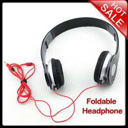 New Headphone Stereo Headset Earphone Foldable For DJ PSP MP3 MP4 PC 3.5mm(China (Mainland))