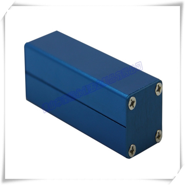 Anodized Colorful Electrical Aluminum Enclosure/Casing/Housing 25*25*80mm (w*h*l)(China (Mainland))