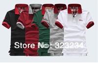 2014 Essential Classic Metrosexual Man Hit Color's T Man Short-Sleeved  T-Shirts Collar Size: M  L  XL  XXL