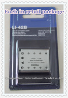 LI-42B rechargeable Li-ion Battery for OLYMPUS Digital Camera Camcorder D630 IR300 IR700 u850 FE3000 FE3010 X905 X915 SP-700