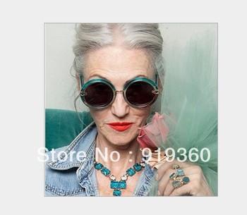 2013 new spring and summer  karen walker sunglasses,round box sunglasses,latest sunglasses