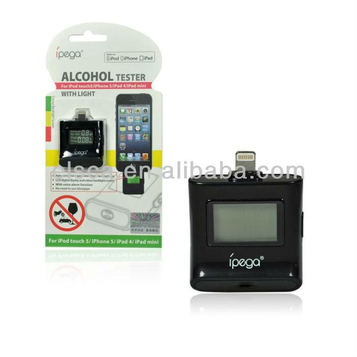 LCD Display Keychain Alcohol Tester Digital Breath Al