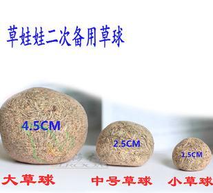 Sementes de capim sementes boneca grama bola de cerâmica grama cabeça da boneca da grama sementes(China (Mainland))