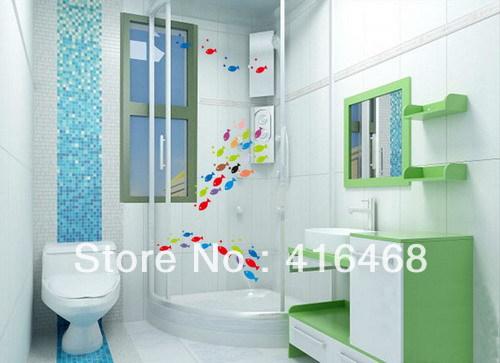 Promoci n de cuarto de ba o de cristal del azulejo - Pegatinas azulejos bano ...