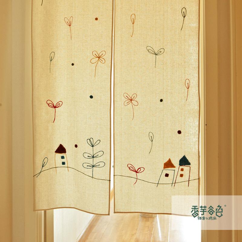 Big House Cartoon Images Big House Taro Cartoon Curtain