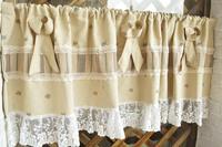 Big House American fruit kitchen curtain small semi-shade finished product customize semi-shade coffee curtain fabric 3