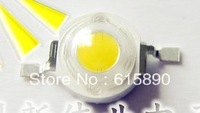 FREE SHIPPING 50PCS/LOT High power Epistar chip 1W 90-100LM 3.2-3.4V Warm White led lamp 3000-3200K