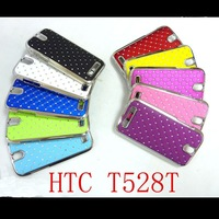 For HTC One SV T528t ( One ST ) CASE,bling Rhinestone diamond fashion design,Free shipping