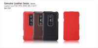 4 Seasons Free shipping Hot selling High quality genuline leather case For HTC EVO 3D / G17 ST-IK28