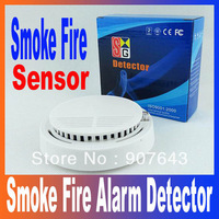 Wireless Smoke Alarm Detector Sensor for GSM Alarm System Accessory Free Shipping