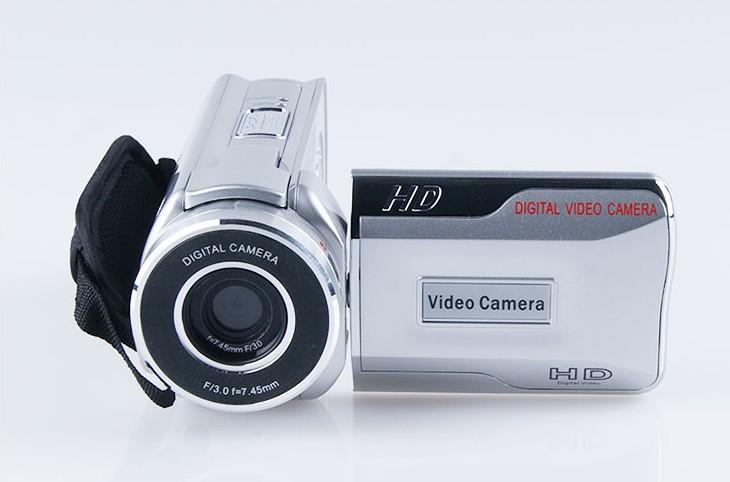 "Free shipping New Brand high quality 16.0 Mega pixels, 1/2.7"" CMOS sensor digital camera with telescope(China (Mainland))"