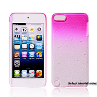 Dropshipping transparent crystal cover case Touch 5 case PU Water dropping Cover for ipod touch 5 generation Freeshipping