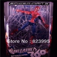 NEW  Spider-man   cobweb   20cm  PVC   The waist can turn 360    Movable joints