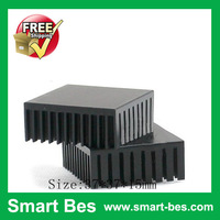 (10pieces/lot) extrusion aluminum heat sink37*37*15mm Free shipping by Singarpore post