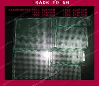 6pcs Double-Side Prototype PCB Universal Board, 5x7 4x6 3x7 2x8 7x9 6x8 CM for arduino for raspberry pi