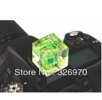 Triple 3 Axis Bubble Spirit Level On Camera Hot Shoe 3D for canon nikon pentax