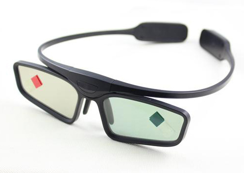 Infrared 3D Active Shutter Glasses, for 3D all 3D Infrared Ray Televisions, M3D-IR001(China (Mainland))