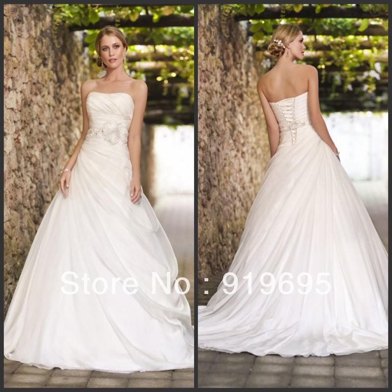 Online Get Cheap Galina Wedding Gowns Aliexpress