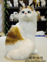 2013 new stuffed toys Simulation cat plush toy cat doll simulation cat ornaments free shipping
