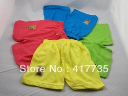 Wholesale Free shipping Cute Candy Colors (For 1-3years) Babies shorts pants kid trousers(China (Mainland))