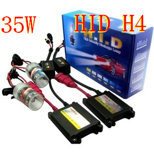 Xenon HID kit H1 H3 H4 H8 H4 H7 H11 single beam HID AUTO CAR lamp HID KIT 12v 35w color 3000k,4300k,6000k,8000k,10000k,12000k(China (Mainland))