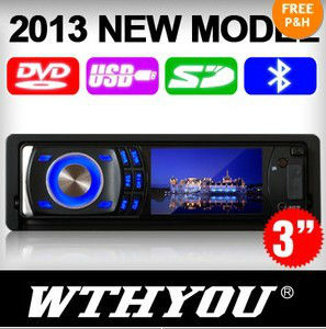 Free Shipping NEW 3'' Digital  Screen  for all kinds of the SINGLE din CAR DVD