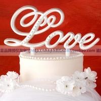 Sep sale Wedding supplies wedding props gift love wedding cake decoration cake topper