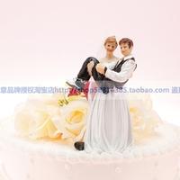 Sep sale Wedding Cake Topperwedding accessories cake decoration groom - female male