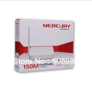 Freeshipping Mercury MW155R 150M wireless router IP bandwidth control small coverage MINI routing Dropshipping(China (Mainland))