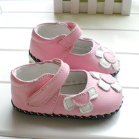 Leather soft leather baby shoes single shoes skidproof toddler shoes leather spring and summer autumn shoes cd11