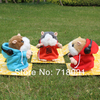 Free Shipping,Talking Toy DJ Version Mimicry Pet Hamster,Stuffed Plush mouse,Speaking animal,15x13x12cm,4pc/lot(China (Mainland))