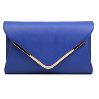 2013 Fashion envelope day clutches women bag purse1pcs 5 color Free shipping Dropshipping