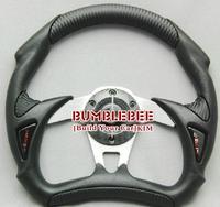 Free Shipping,MOMO PU+PVC 13 inches , Sport Steering Wheel for Modified Car,racing wheel,K059 ,Steering Wheel