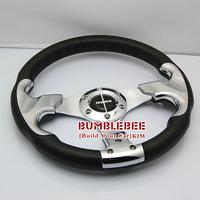 Free Shipping,MOMO PU 13 inches , Sport Steering Wheel for Modified Car,racing wheel,K048 ,Steering Wheel