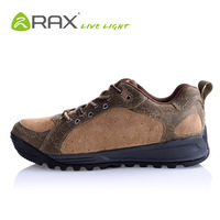 Rax autumn and winter genuine leather outdoor casual shoes breathable slip-resistant fashion male shoes q - maya 21-5g007
