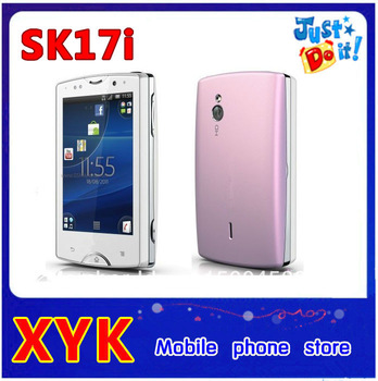 Hot sale Original SK17i mini pro2 SK17 5MP WIFI GPS Bluetooth Unlocked Mobile Phone With Free singapore post