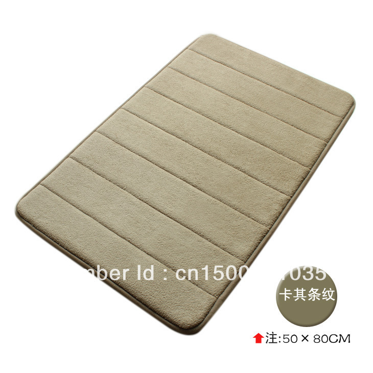 coral fleece memory foam carpet/ door mats /rug hot sale(China (Mainland))