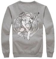 Free shipping fashion hip-hop crooks castles O-neck pullover men sweatshirts long sleeve outerwear hoodies HIP HIP Coat  HP06